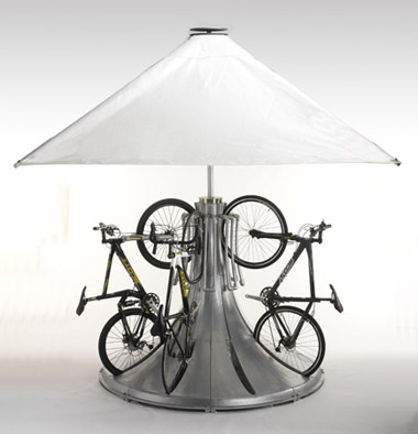 cyclepod allows 8 bikes to be store vertically in a small 2 meter ...